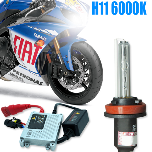 Kit Xenon Moto 12V 35W H11 6000K - BEST SALE SHOP