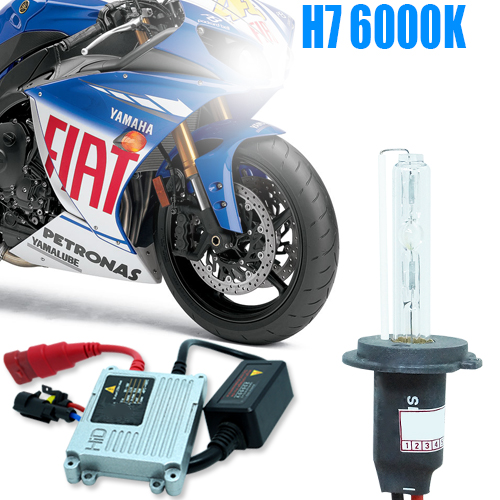 Kit Xenon Moto 12V 35W H7 6000K  - BEST SALE SHOP