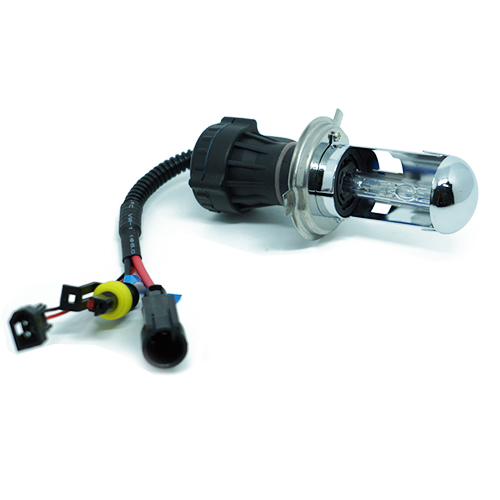 Lâmpada Bi Xenon Reposição 12V 35W H4-3 8000K