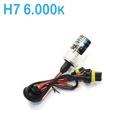 Lâmpada Xenon Reposição 12V 35W H7 6000K