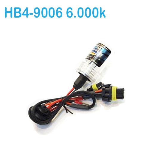 Lâmpada Xenon Reposição 12V 35W Hb4-9006 6000K