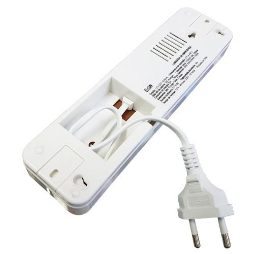 Luminária de Emergência Bivolt 30 Leds 2W Elgin Recarregável Luz Branco Frio  - BEST SALE SHOP
