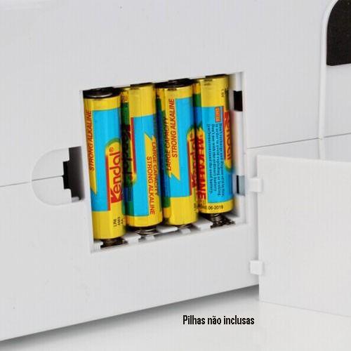 Máquina de Costura Elétrica Portátil 12 Pontos Bivolt Pedal Luz Alça IWMC-505