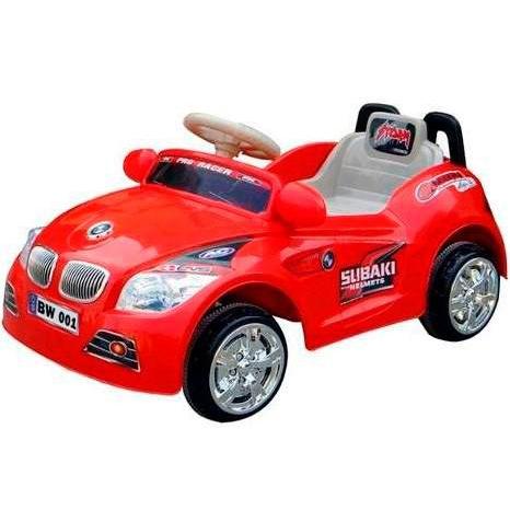 Mini Carro Elétrico Infantil 6V Importway BW001-V Vermelho  - BEST SALE SHOP