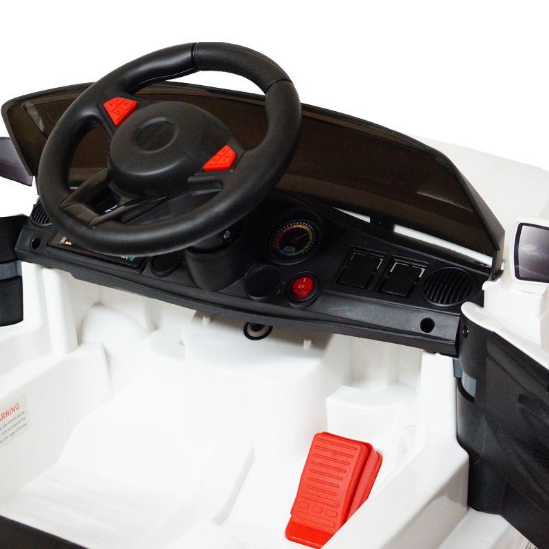 Mini Carro Elétrico Infantil Criança 6V com Controle Remoto Importway Mercedes Branco BW-007-BR