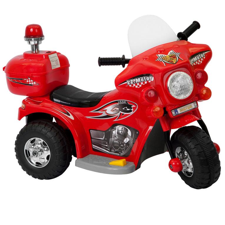 Mini Moto Elétrica Infantil 6V Importway BW002-V Vermelho  - BEST SALE SHOP