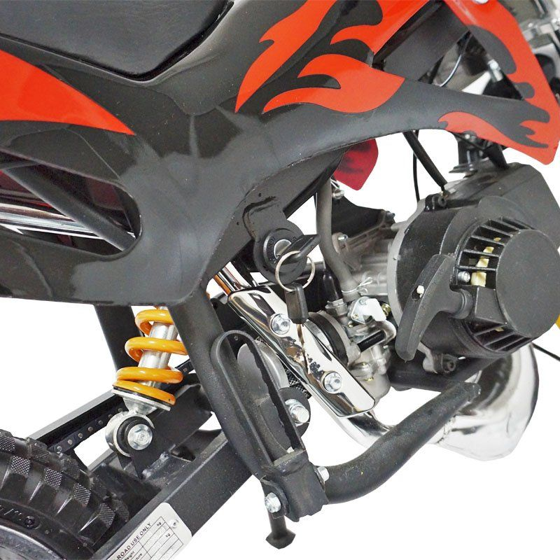 Mini Moto Infantil Gasolina 2 Tempos 49CC Cross Trilha Off Road Importway WVDB-006 Dirt