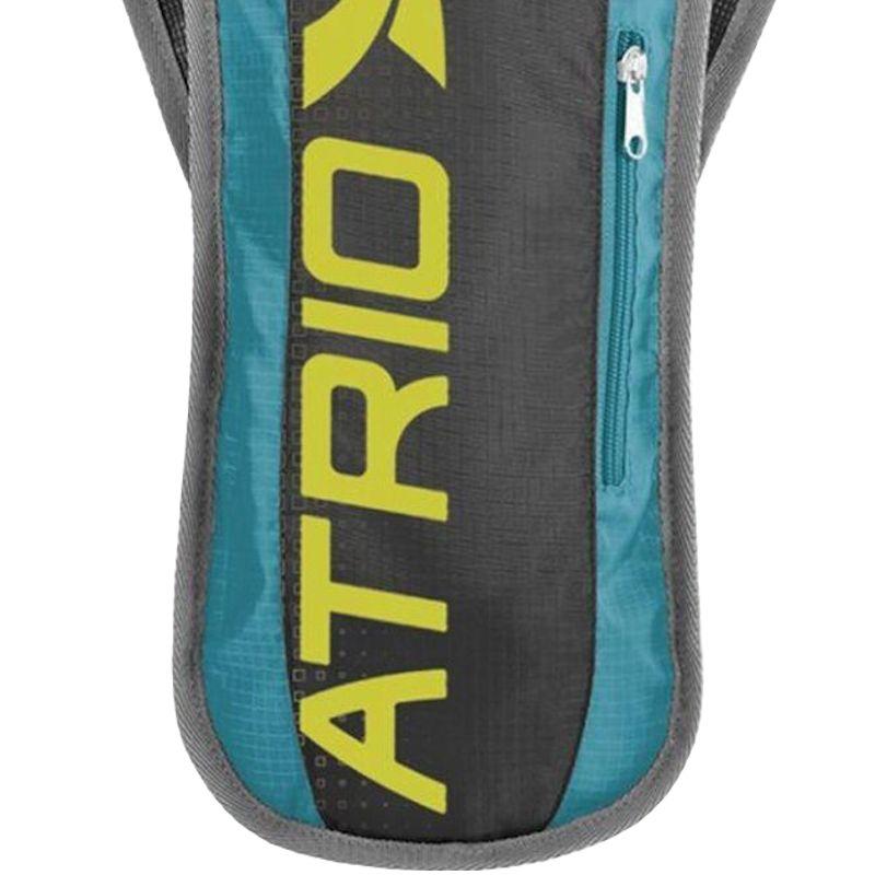 Mochila de Hidratação Térmica + Bolsa de Água 1,5 L Bike Atrio BI052 Sprint Preta Azul  - BEST SALE SHOP