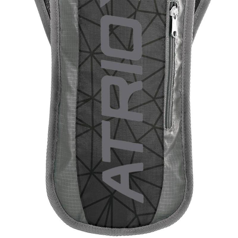 Mochila de Hidratação Térmica + Bolsa de Água 1,5 L Bike Atrio BI053 Sprint Preta Cinza