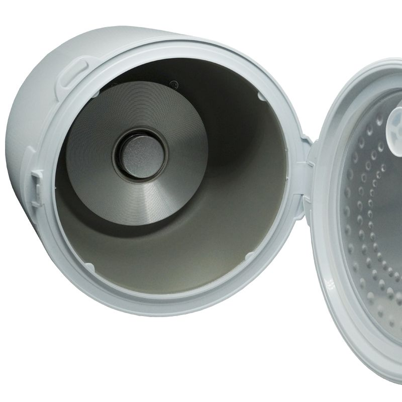 Panela Elétrica de Arroz 5 Xícaras 400W Multilaser 220V Branca Antiaderente Gourmet CE02  - BEST SALE SHOP