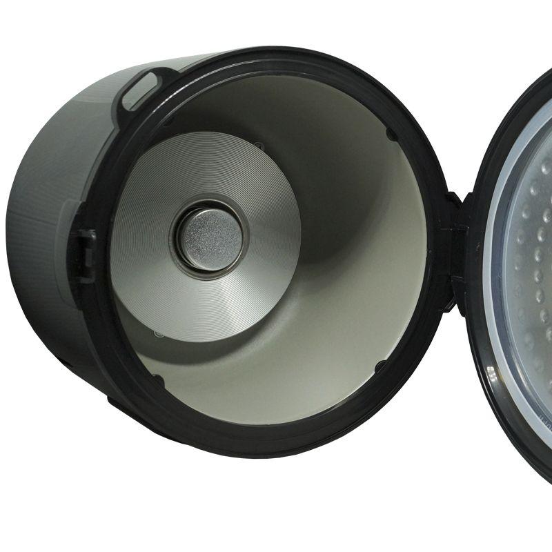 Panela Elétrica de Arroz 5 Xícaras 400W Multilaser 220V Preta Antiaderente Gourmet CE04