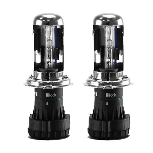 Par Lâmpada Bi Xenon Reposição 12V 35W H4-3 6000K