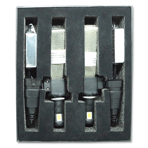 Par Lâmpada Super Led 6400 Lumens 12V 24V 30W Jl Auto Parts Manta Flex 6000K