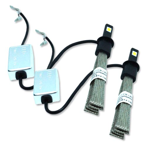 Par Lâmpada Super Led 6400 Lumens 12V 24V H1 Manta Flex 6000K