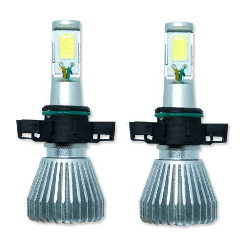 Par Lâmpada Super Led 6400 Lumens 12V 24V 32W Seven Parts H16 6000K