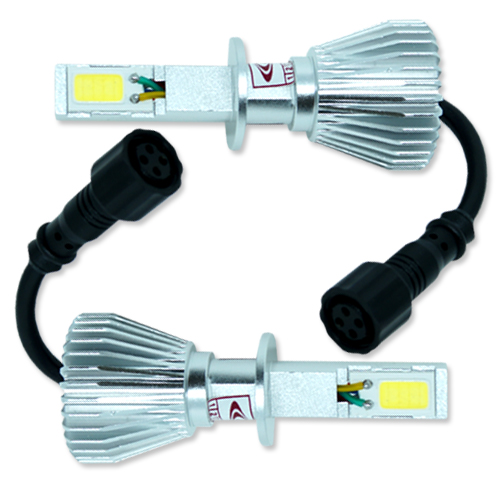 Par Lâmpada Super Led 6400 Lumens 12V 24V 32W Seven Parts H1 6000K