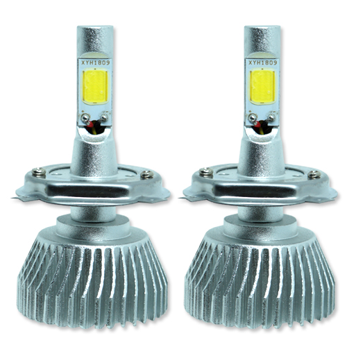 Par Lâmpada Super Led 6400 Lumens 12V 24V 32W Seven Parts H4 6000K