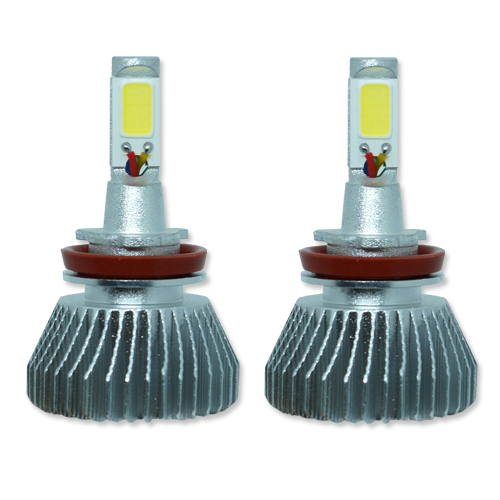 Par Lâmpada Super Led 6400 Lumens 12V 24V 32W Seven Parts H8 6000K