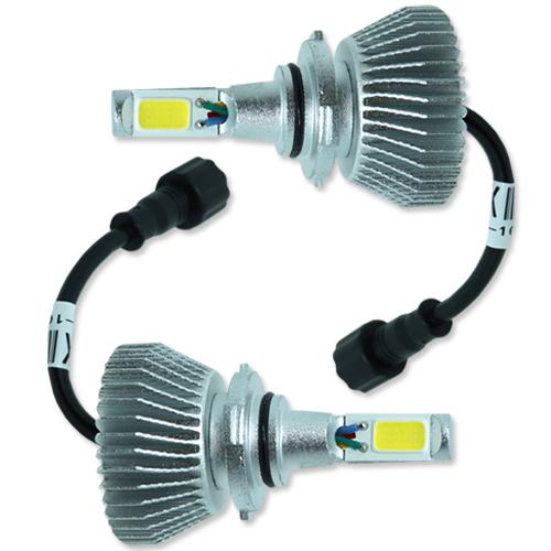 Par Lâmpada Super Led 6400 Lumens 12V 24V 32W Seven Parts HB4-9006 6000K