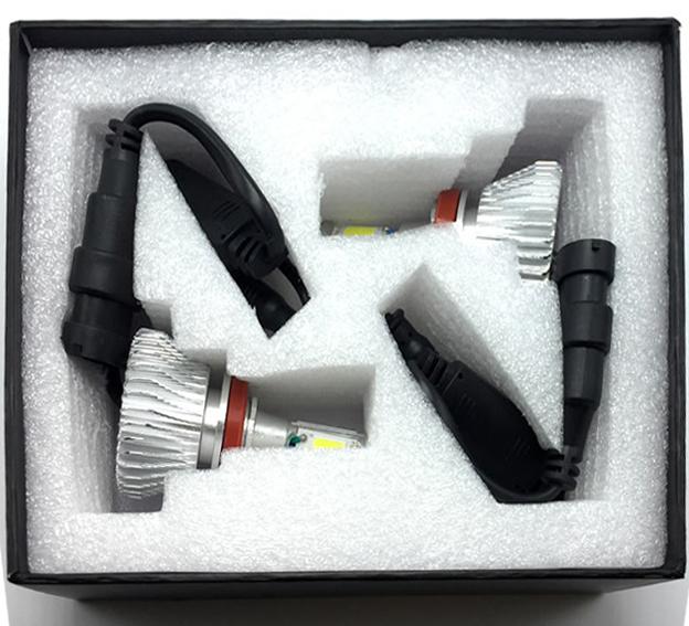 Par Lâmpada Super Led 6400 Lumens 12V 24V H16 6000K  - BEST SALE SHOP