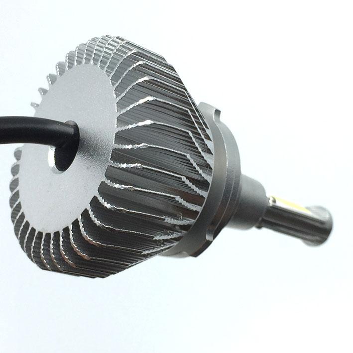 Par Lâmpada Super Led 6400 Lumens 12V 24V H1+H7 6000K  - BEST SALE SHOP
