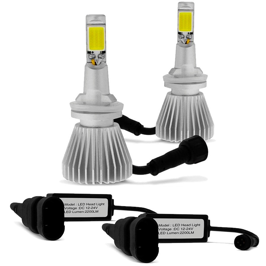 Par Lâmpada Super Led 4400 Lumens 12V 24V 32W Shocklight H27 6000K
