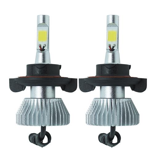 Par Lâmpada Super Led 4400 Lumens 12V 24V H13 (Bi) 6000K