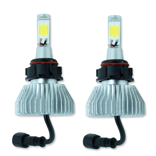 Par Lâmpada Super Led 4400 Lumens 12V 24V H16 6000K