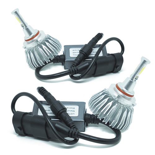 Par Lâmpada Super Led 6000 Lumens 12V 24V 40W Importway HB3 9005 6000K  - BEST SALE SHOP