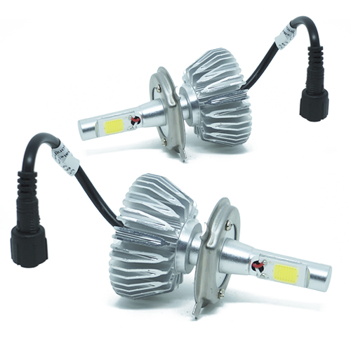Par Lâmpada Super Led 6000 Lumens 12V 24V H4 (Bi) 6000K