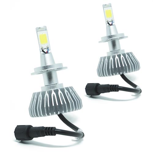 Par Lâmpada Super Led 6000 Lumens 12V 24V H7 6000K  - BEST SALE SHOP