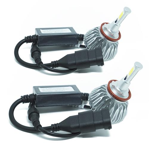 Par Lâmpada Super Led 6000 Lumens 12V 24V H8 6000K  - BEST SALE SHOP