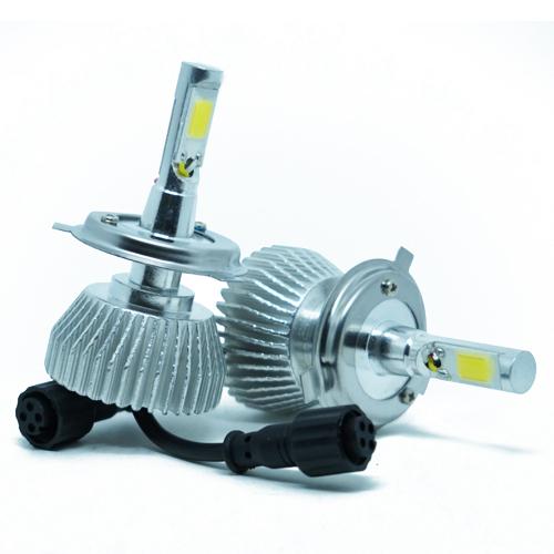 Par Lâmpada Super Led 6400 Lumens 12V 24V 35W Shocklight H4 (Bi) 6000K