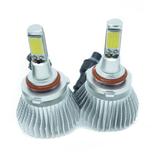 Par Lâmpada Super Led 6400 Lumens 12V 24V 35W Shocklight HB4 9006 6000K