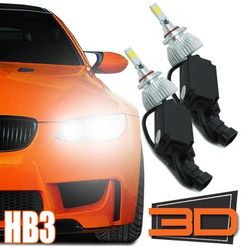 Par Lâmpada Super Led 7200 Lumens 12V 24V 3D Hb3 6000K