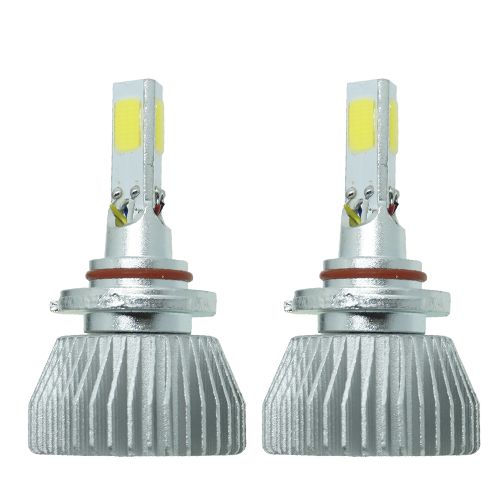 Par Lâmpada Super Led 9000 Lumens 12V 24V 3D HB4 9006 6000K
