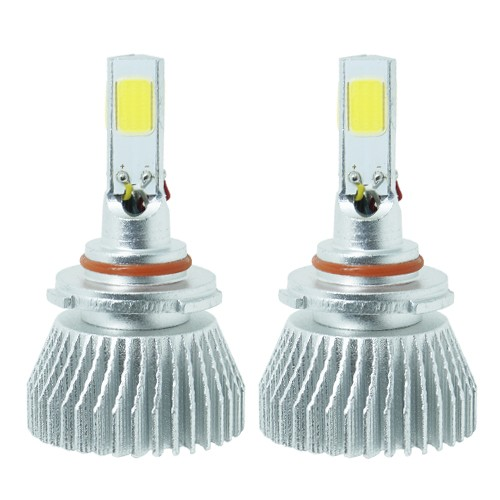 Par Lâmpada Super Led 7200 Lumens 12V 24V 40W Shocklight Power Led 3D HB3 6000K  - BEST SALE SHOP
