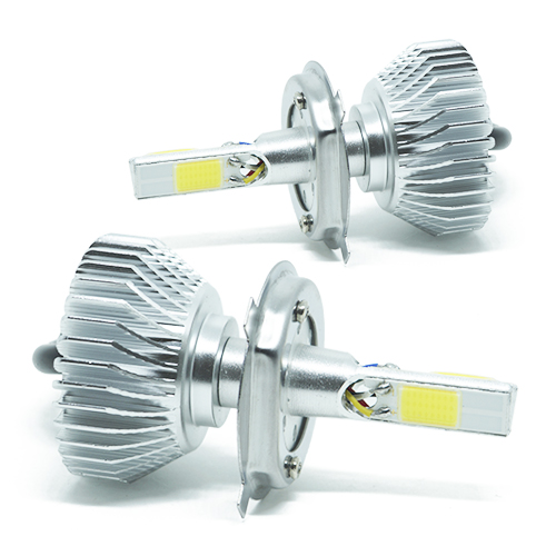 Par Lâmpada Super Led 7400 Lumens 12V 24V 3D H4 (Bi) 6000K  - BEST SALE SHOP