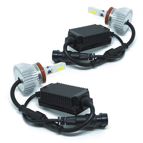 Par Lâmpada Super Led 7400 Lumens 12V 24V 40W Cinoy 3D H11 6000K