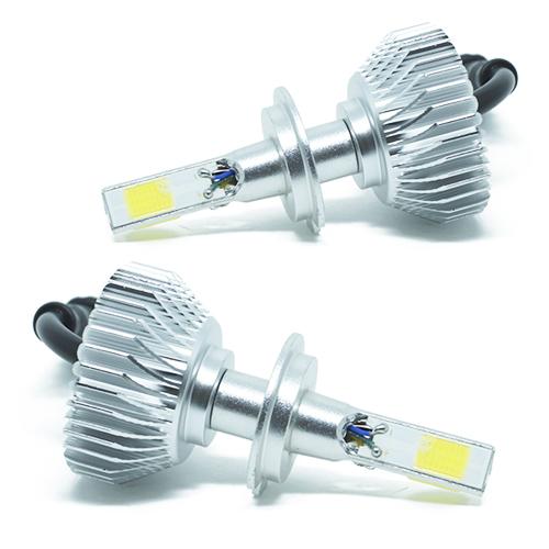 Par Lâmpada Super Led 7400 Lumens 12V 24V 40W Cinoy 3D H7 6000K  - BEST SALE SHOP