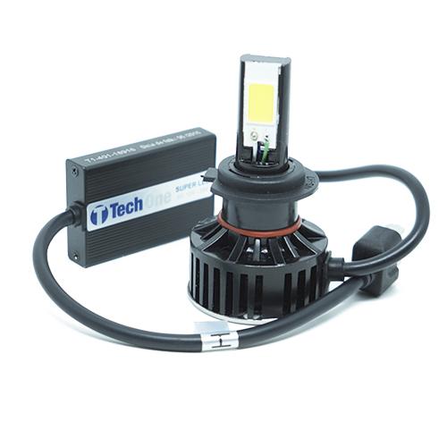 Par Lâmpada Super Led 7400 Lumens 12V 24V 48W Tech One H7 6000K  - BEST SALE SHOP