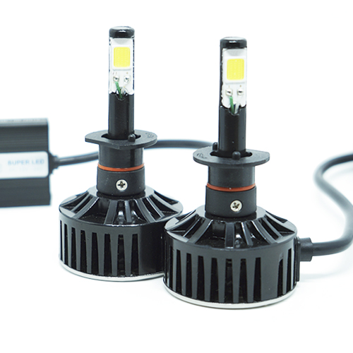Par Lâmpada Super Led 7400 Lumens 12V 24V H1 6000K
