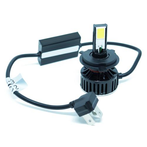 Par Lâmpada Super Led 7400 Lumens 12V 24V H4 (Bi) 6000K