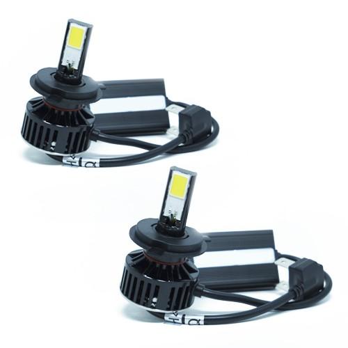 Par Lâmpada Super Led 7400 Lumens 12V 24V H4 (Bi) 6000K  - BEST SALE SHOP
