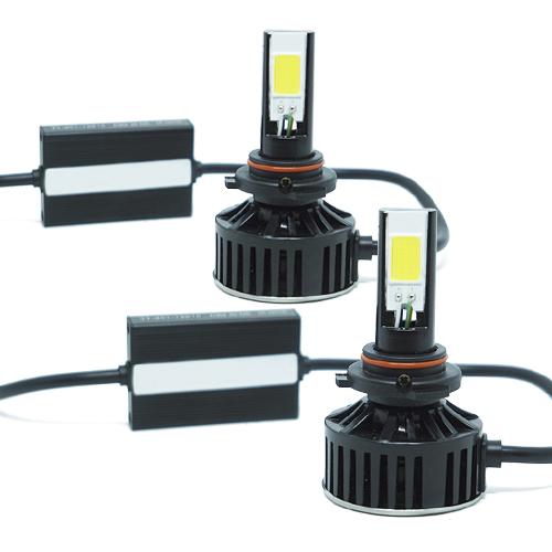 Par Lâmpada Super Led 7400 Lumens 12V 24V HB4 9006 6000K
