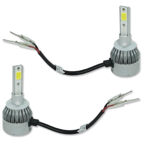 Par Lâmpada Super Led 9000 Lumens 12V 24V 40W Guzz H27 6000K  - BEST SALE SHOP