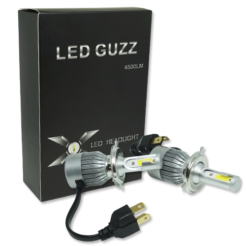 Par Lâmpada Super Led 9000 Lumens 12V 24V 40W Guzz H4 (Bi) 6000K  - BEST SALE SHOP