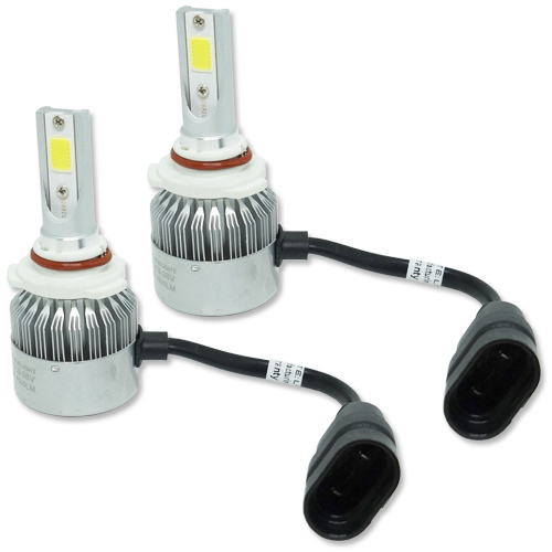Par Lâmpada Super Led 9000 Lumens 12V 24V 40W Guzz HB4 9006 6000K