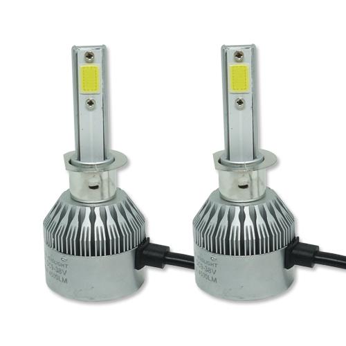 Par Lâmpada Super Led 9000 Lumens 12V 24V H1 6000K