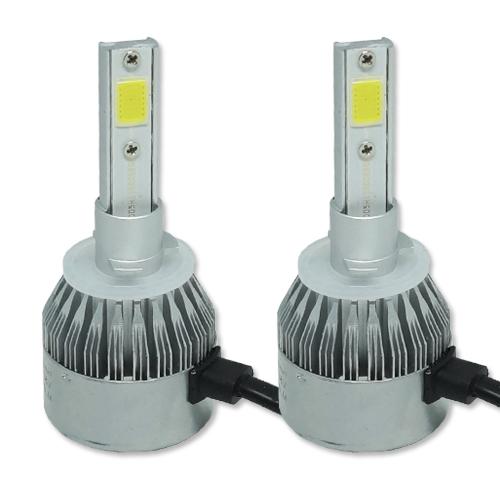Par Lâmpada Super Led 9000 Lumens 12V 24V H27 6000K